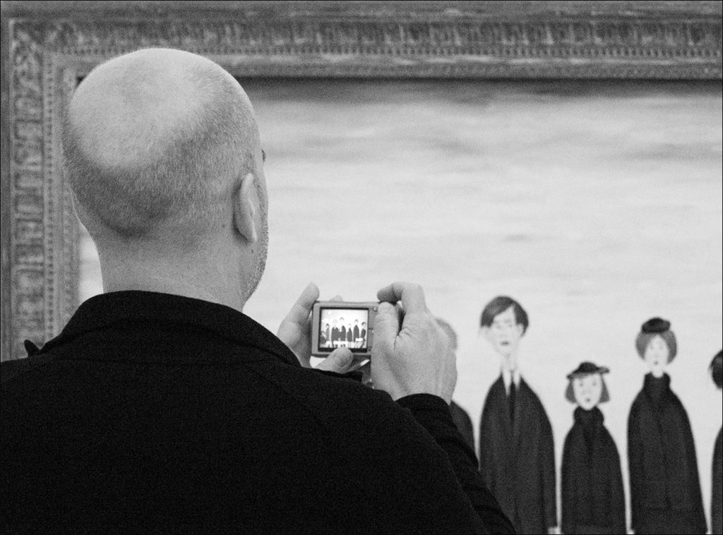 Picture within a Picture by Rose King (Monochrome, taken at The Lowry, Salford)